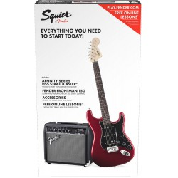 Fender Squier Affinity Strat  HSS Pack