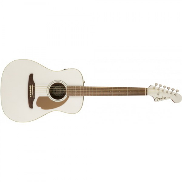 Fender Malibu Player Acoustic Electric Guitar Arctic Gold