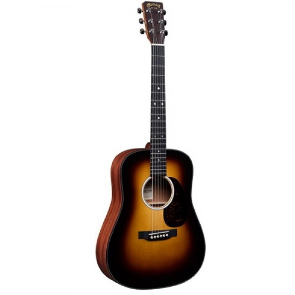 Martin DJR-10E Junior Acoustic Electric Guitar Burst