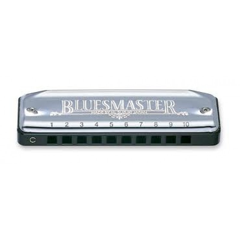 Suzuki Bluesmaster Harmonica Key Bb