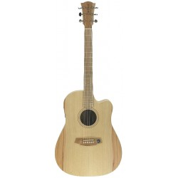 Cole Clark Fat Lady 1 FL1EC-BM Bunya Maple