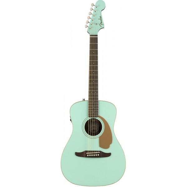 Fender Acoustic Electric Malibu Aqua Splash Guitar