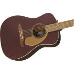 Fender Acoustic Electric Malibu Burgundy Satin