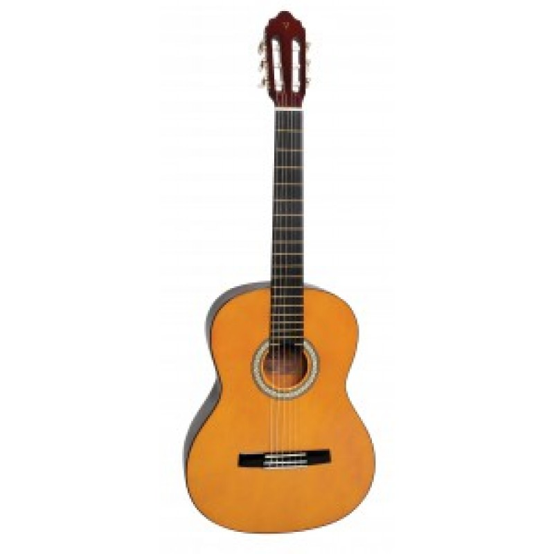 Valencia tc4k 4 4 size classical guitar package for Luthier valencia