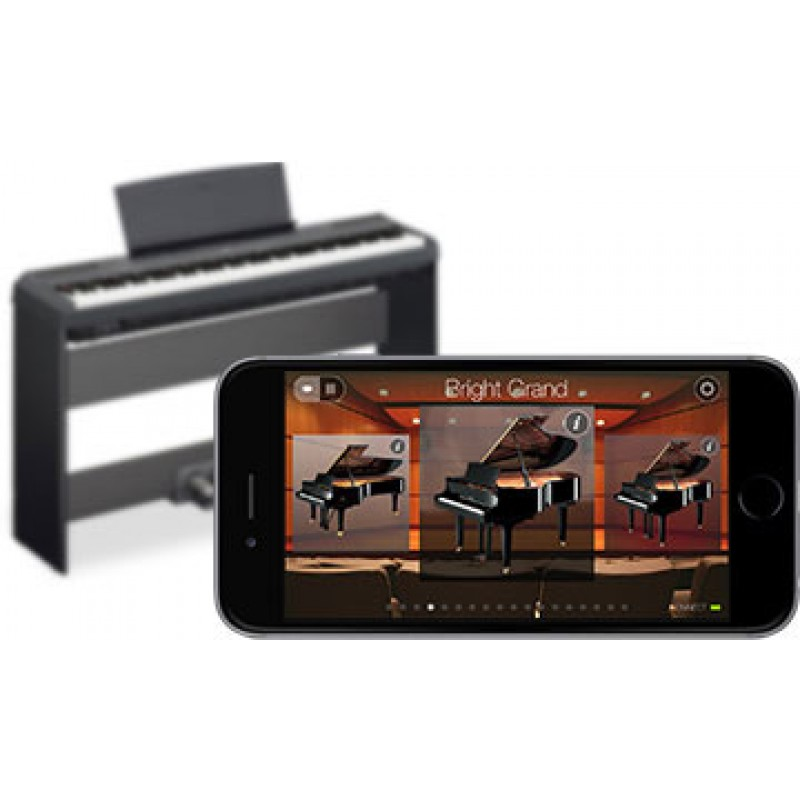 Yamaha p115 88 key digital piano for Digital piano keyboard yamaha