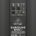 Behringer B115D powered speaker