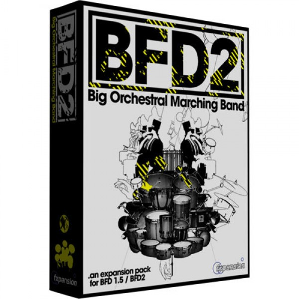 fxpansion BFD2 Big Orchestral Marching Band expansion pack