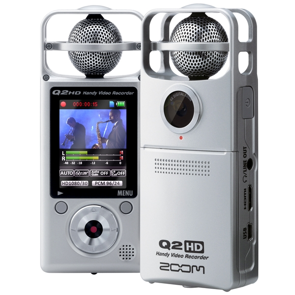 Zoom Q2 HD Video Recorder