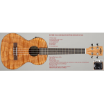 Kala Tenor Ukulele KA-TEME with UK-300-TR EQ