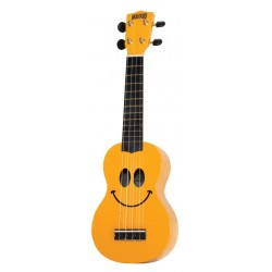 Mahalo Soprano Ukulele Art Series Smiley Face
