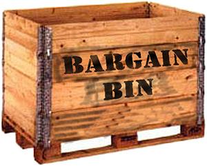 bargin-bin